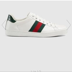 Men's Gucci leather Ace sneakers